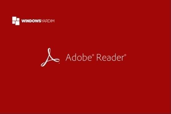 Adobe Acrobat Reader PDF Okuyucu