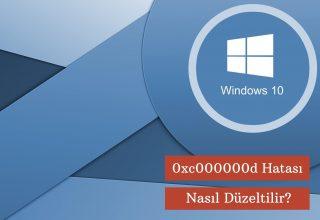 Windows 0xc000000d Hatası Nasıl Düzeltilir? 2021
