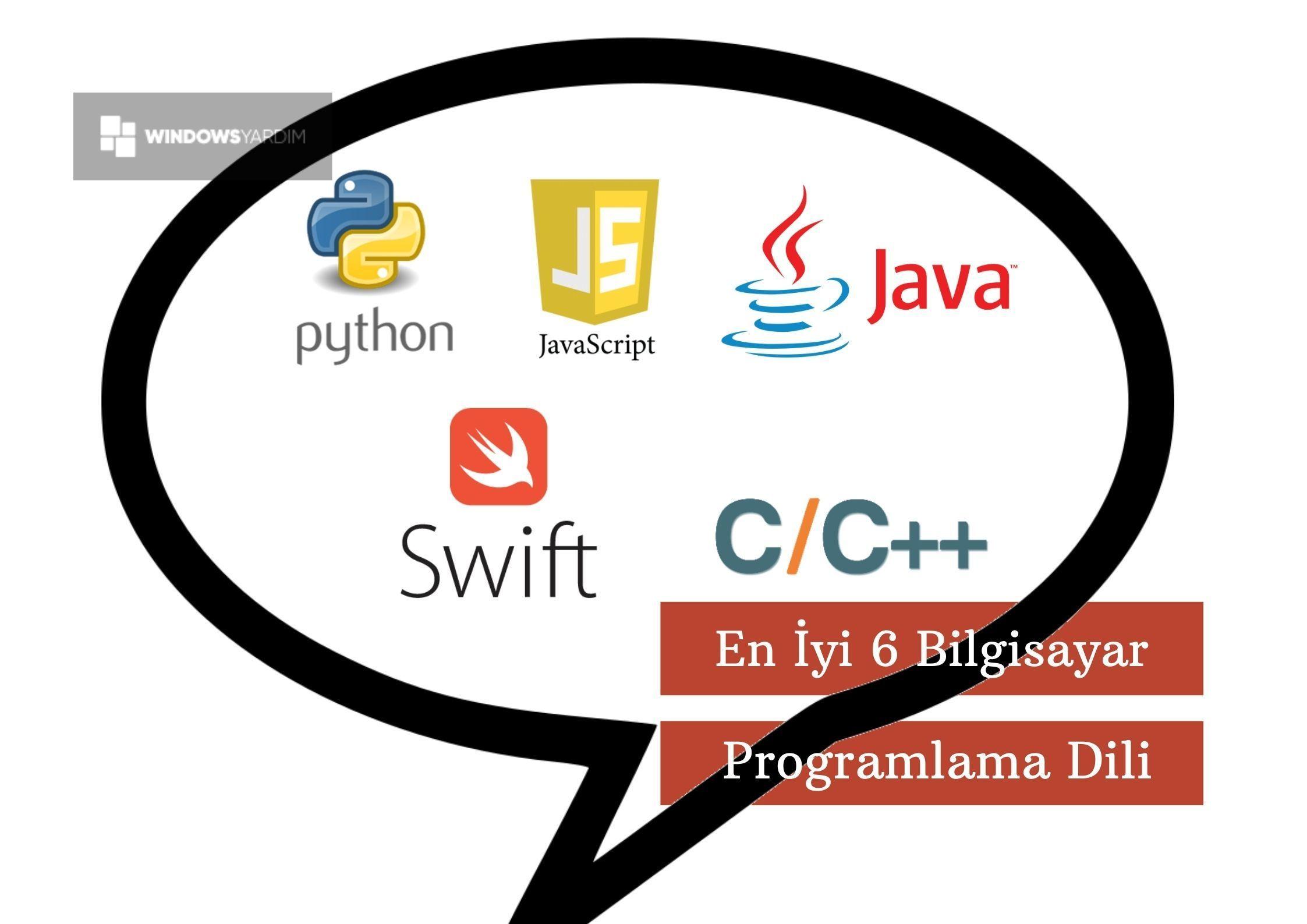 En İyi 6 Bilgisayar Programlama Dili